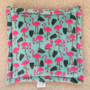 Lap Pad - Flamingo with Light Pink Fleece
