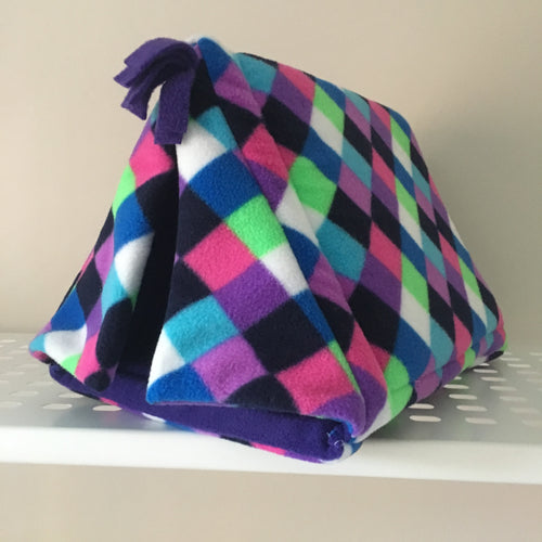 Tent - Elmer with Purple  Fleece