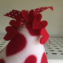 Load image into Gallery viewer, ***PRE ORDER*** Valentines 2020 Pigwam - Hearts with Red Fleece