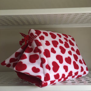 ***PRE ORDER*** Valentines 2020 Tent - Hearts with Red Fleece