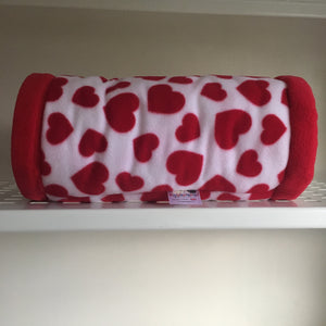 Valentines 2020 Tunnel - Hearts with Red Fleece