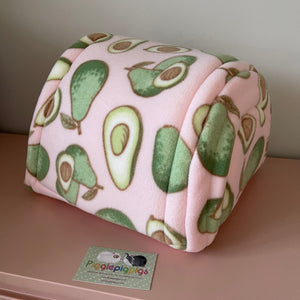 Piglu - Avocados with Pink Fleece