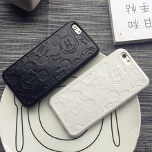 LEATHER MICKEY CASE FOR IPHONE 7 7 PLUS 6 6S PLUS