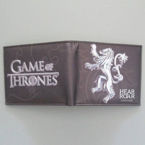 GOT TV Show Themed  Bi-Fold Wallet (with Gift Box)