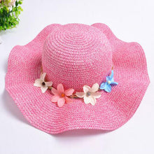 MVUPP mommy and me Sun hat Mother and daughter Travel cap Wave family clothes outfits look mom mum Lady girl matching Beach caps
