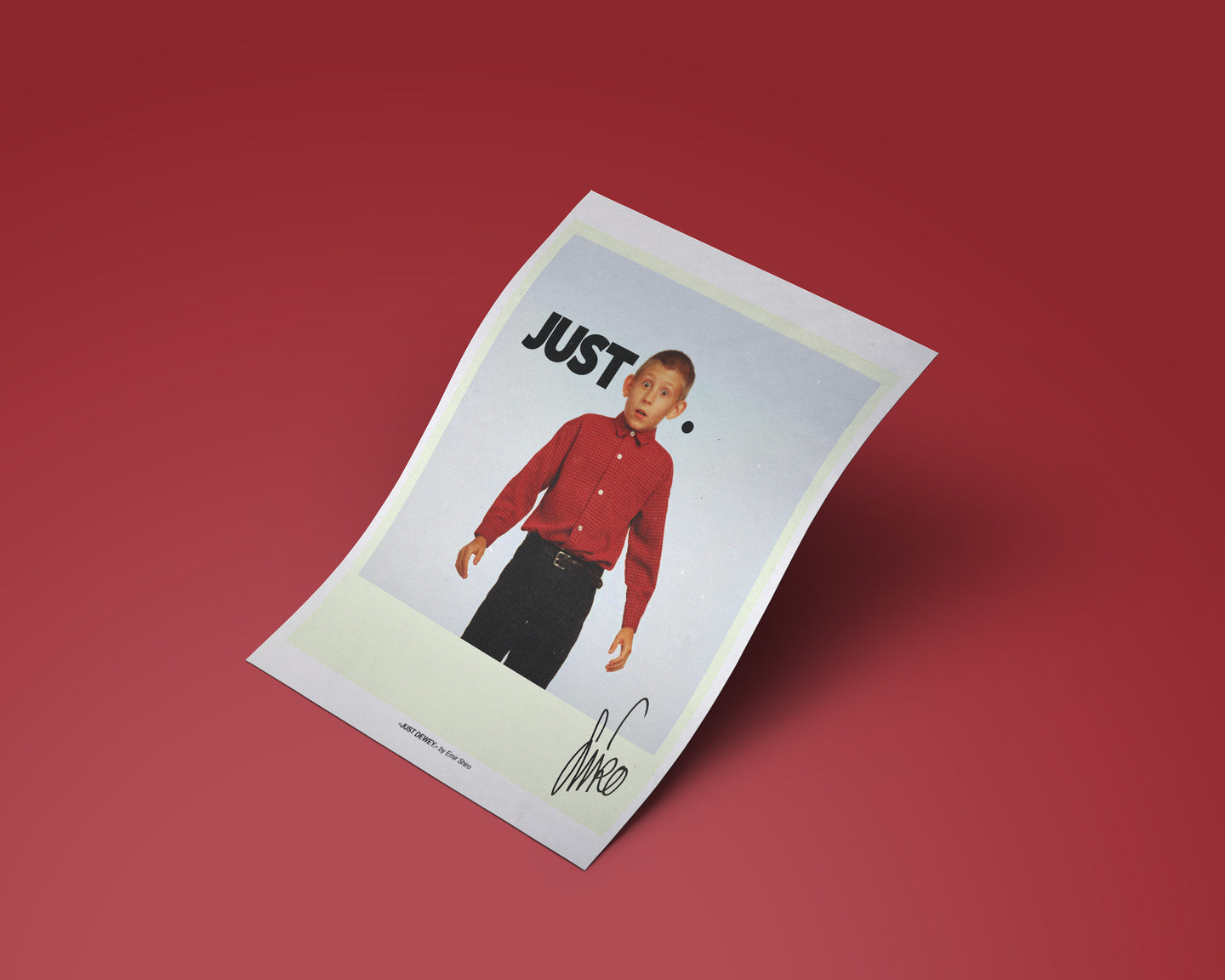 JUST DEWEY (Replica Print)