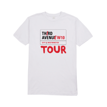 Load image into Gallery viewer, Fredo Third Avenues Tour Tee | White
