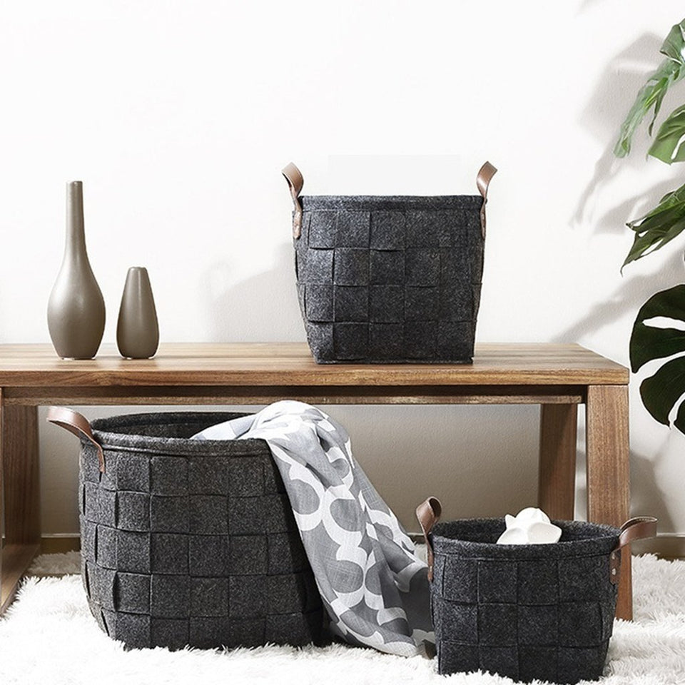book storage Cloth storage baskets