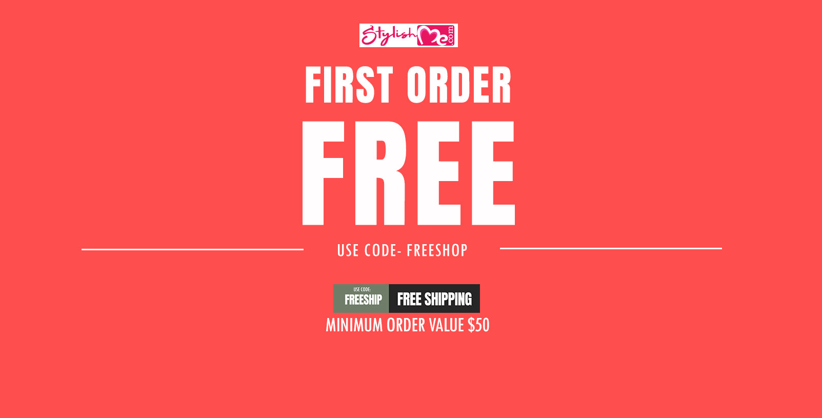 stylishme offers first order free