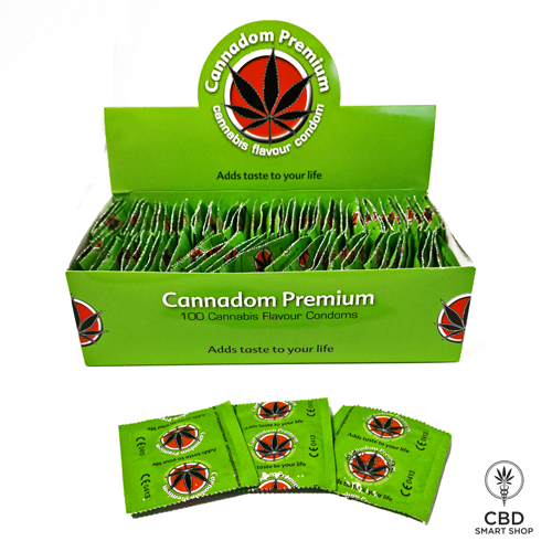 Cannadom Premium kondomi - CBD Smart Shop