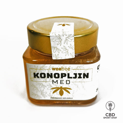 Konopljin med WeeBee - CBD Smart Shop