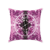 Conscious Comfort Throw Pillows in Amethyst Dreams - Birthday Predictions Solar Return Report | Astrological birth chart analysis, cosmic clothing & home goods!