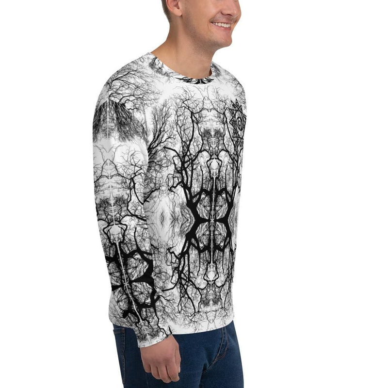 Cosmic Comfort Unisex Crewneck in Fractal Feels - Birthday Predictions Solar Return Report | Astrological birth chart analysis, cosmic clothing & home goods!