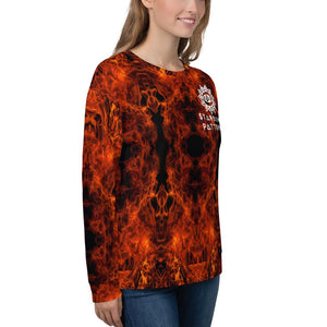 Cosmic Comfort Unisex Crewneck in Mars Mood - Birthday Predictions Solar Return Report | Astrological birth chart analysis, cosmic clothing & home goods!