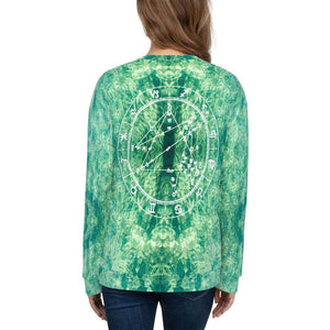 Cosmic Comfort Unisex Crewneck in sLIQUID - Birthday Predictions Solar Return Report | Astrological birth chart analysis, cosmic clothing & home goods!