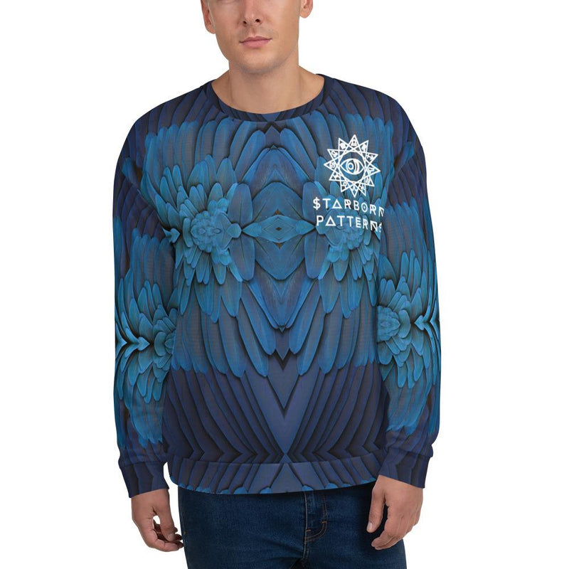 Cosmic Comfort Unisex Crewneck in Venus Vibes - Birthday Predictions Solar Return Report | Astrological birth chart analysis, cosmic clothing & home goods!