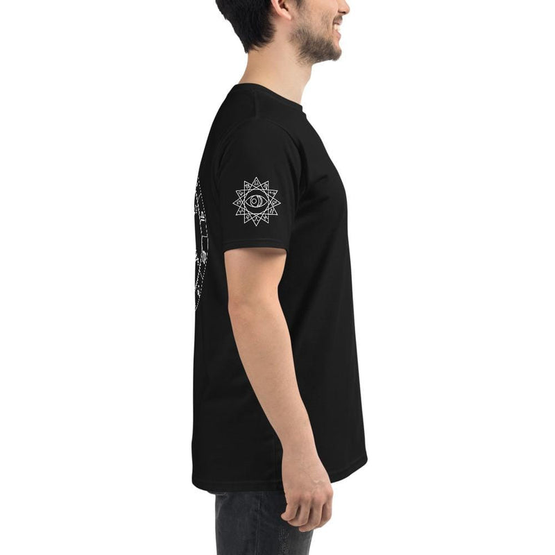 Cosmic Comfort Unisex Organic Low Key T in Black - Birthday Predictions Solar Return Report | Astrological birth chart analysis, cosmic clothing & home goods!