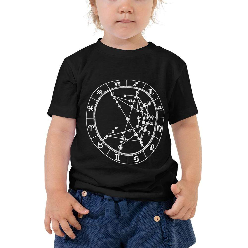 Star Seed Short Sleeve Toddler T - Birthday Predictions Solar Return Report | Astrological birth chart analysis, cosmic clothing & home goods!