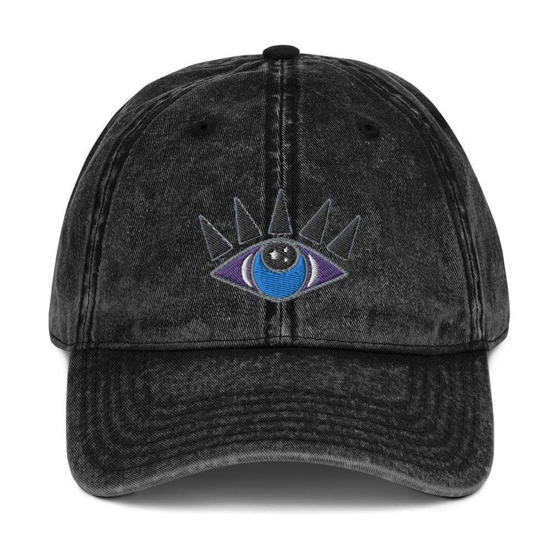Third Eye Aligned Dad Hat + Custom Astrology Book - Birthday Predictions Solar Return Report | Astrological birth chart analysis, cosmic clothing & home goods!