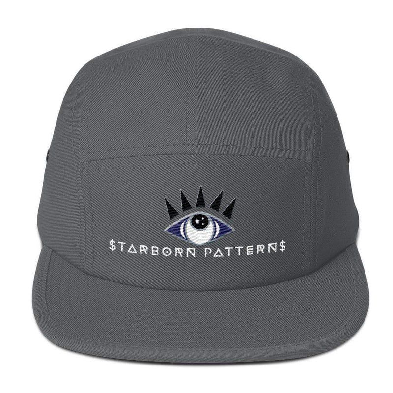 Third Eye Aligned Five Panel Camper Hat - Birthday Predictions Solar Return Report | Astrological birth chart analysis, cosmic clothing & home goods!