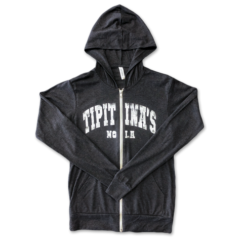 Unisex Lightweight Vintage Hoodie - Charcoal Triblend