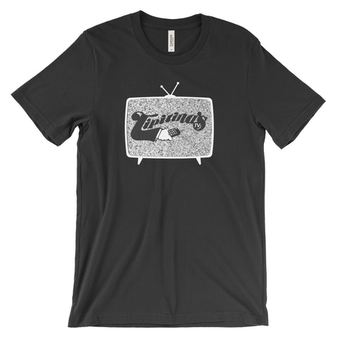 PREORDER - Tips TV Logo Unisex T-Shirt - Black