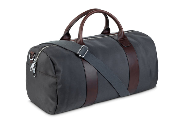 The Grey Duffel Bag