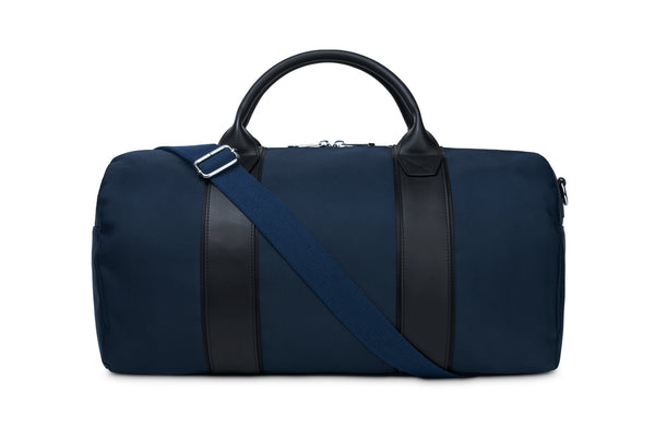 The Dark Blue Duffel Bag
