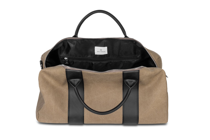 The Beige Duffel Bag
