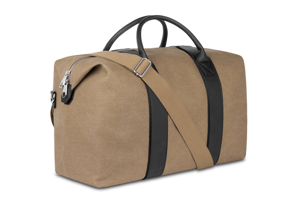 The Beige Weekender Bag