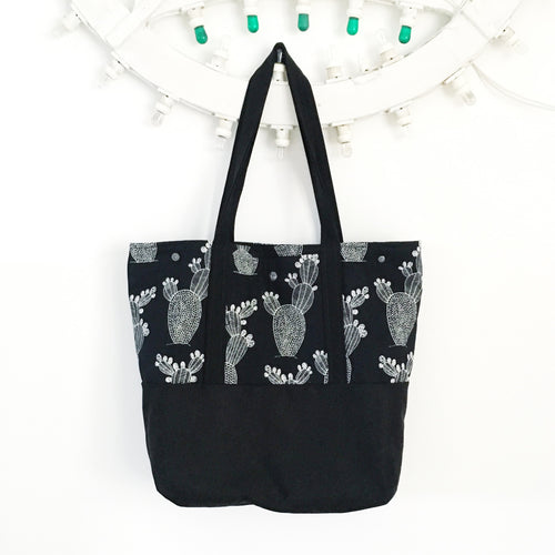 Tote bag Reversibile - FICHI D'INDIA
