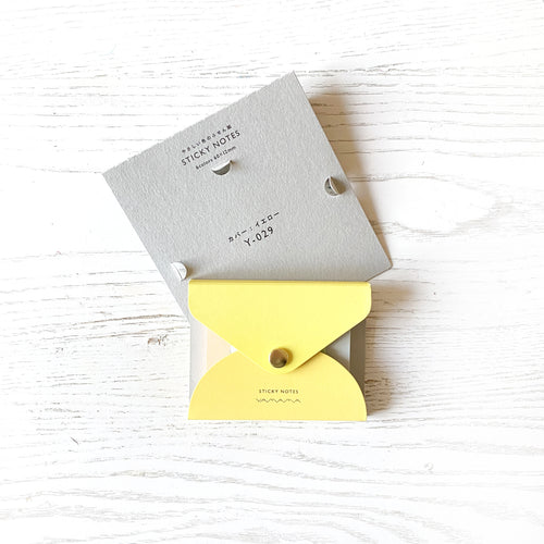 Sticky Notes & Cover - YELLOW
