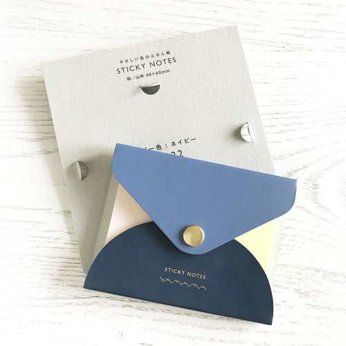 Sticky Notes & Cover - NAVY