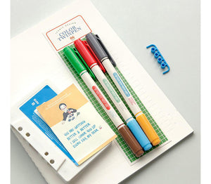 Color Twin Pen - set di 3