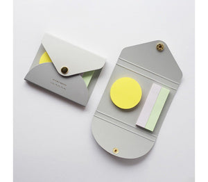Sticky Notes & Cover - GRAY