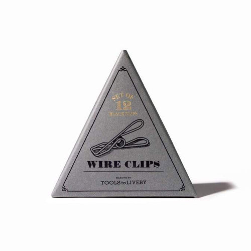 TOOLS to LIVEBY - Wire Clip BLACK