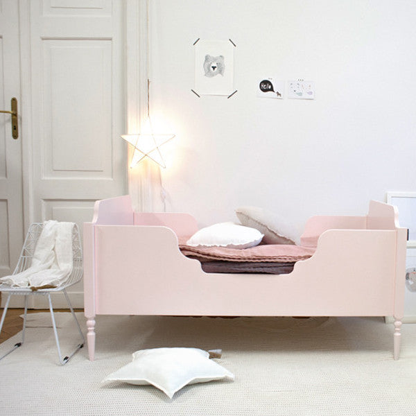 Florence kid bed in Pastel Pink