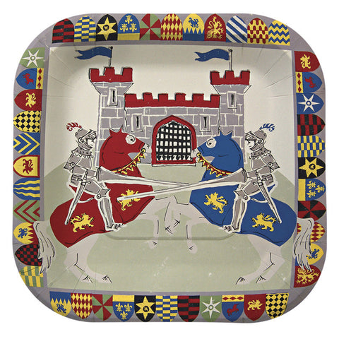 Brave knights plates