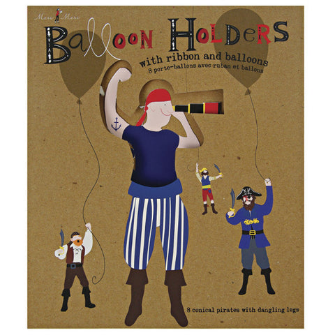pirate balloon holders