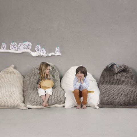 NEST bean bag Light Grey