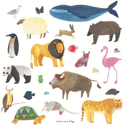 Animals by Martha Abad Blay
