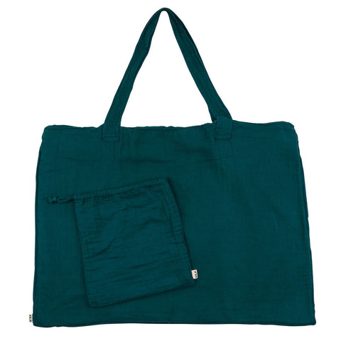 Bag & Purse petrol blue