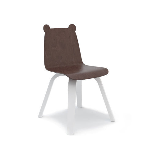 2 Bear Chairs Walnut