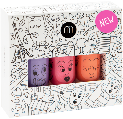 NAILMATIC KIDS CITY ( PACK OF 3)