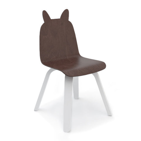 2 Bunny Chairs Walnut