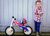 Union jack kurve balance bike