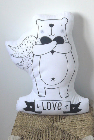 cushion bear love