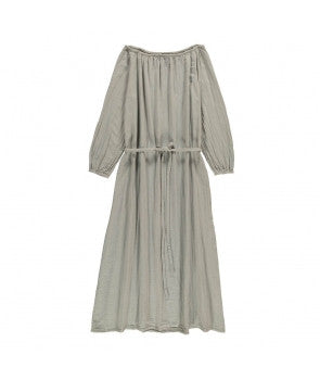 Nina Mum long dress silver grey