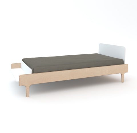 River twin bed birch 90x200