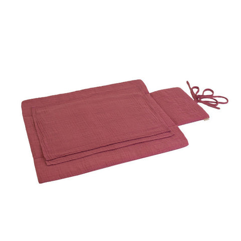 travel changing pad rose